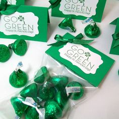 St. Patrick's Day Candy Treat Bags and Toppers