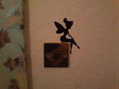 Wall Decal  Disney Tinkerbell Silhoutte Sticker by VinylsDirect, £2.99