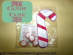 Candy Cane Seeds - modify, but cute idea