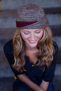 Lucy Hat - Knitting Daily fashion, knit accessories, crafti, cloth, crochet, luci hat, knit daili, hair, diy