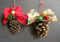 ornaments! cheesy but classic!
