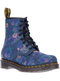 Dr. Martens floral print boot