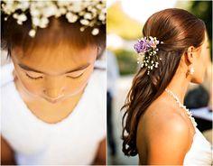 Flowers In Hair Bride
