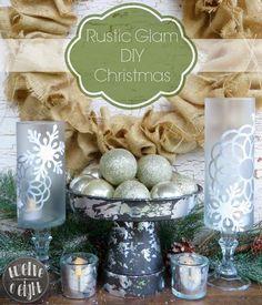 Rustic Glam DIY Christmas