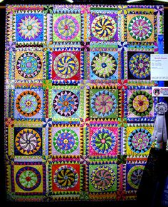 Ziggy quilt from the Dallas Quilt Show 2007...beyond beautiful!!