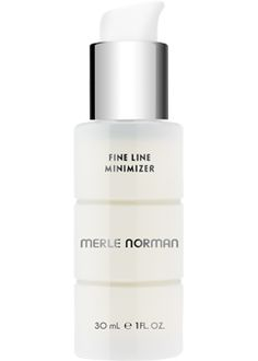 """Fine Line Minimizer: The line stops here! Significantly reduce the appearance of frown lines, laugh lines and """"crow's-feet"""" with this intensive Pro-Retinol serum."""