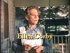 "Ellen Corby, Grandma on The Waltons and actress in old movies, including ""It's A Wonderful Life"" and ""I Remember Mama"""