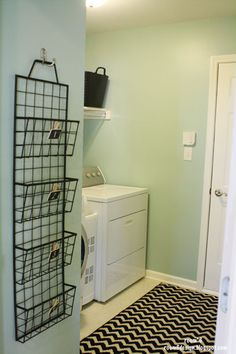 nice rug for the garage entry/laundry room