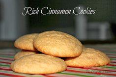 The Chef Next Door: Rich Cinnamon Cookies