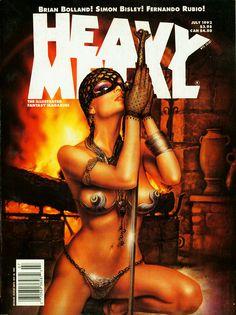 Heavy Metal - Vol. 16 No. 2 July 1992 - Pelaez