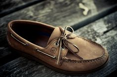 Sperry - classic, comfy, and a great excuse to not wear socks! Bought for the hubby and it is all he wears now!