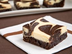 The World's Best Combination: Cheesecake Brownies