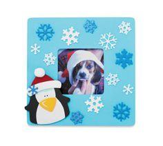 Penguin & Snowflake Frame