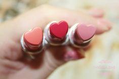 heart-shaped lipsticks.