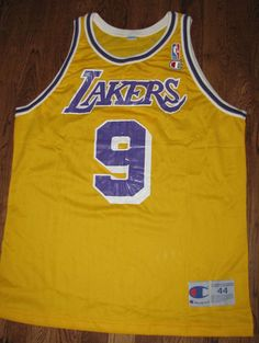Nick Van Exel jersey throwback