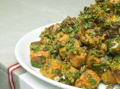 Ottolenghi - Recipes - Roasted sweet potato with pecan & maple