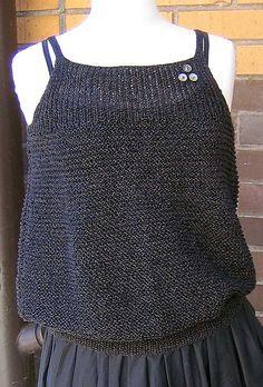 . ravelri pattern, dress, knit tank, summer top, balloon top