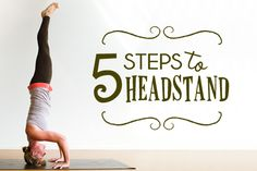 five steps to headstand
