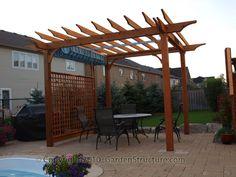 Retractable Canopy Open