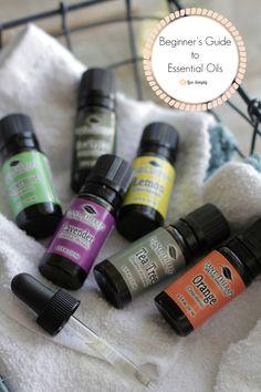 beginners guide essential oils