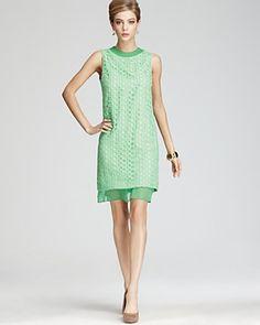 shop, fashion, boutiques, spring dresses, colors, green dress, diane von furstenberg, dian von, lace dresses