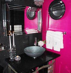Victoria 39 s secret bedrooms on pinterest hot pink for Victoria secret bathroom ideas