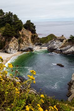 Big Sur water fall California