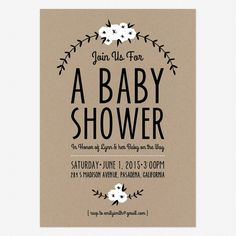 Adorable Free Printables + Baby Shower/Announcements