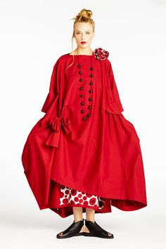 Ono Dress in Red Carnaby