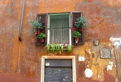 Rome Apartment Window
