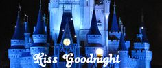 disney kiss, kiss goodnight