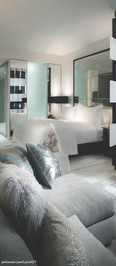 luxuri bedroom, pillow, bedroom decor, color, master bedrooms, luxury bedrooms, penthouse bedroom, bedroom designs, modern bedrooms