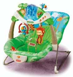 Fisher-Price jungle-themed bouncy seat | Baby Shower Gifts - Parenting.com