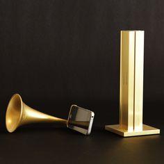 ARKCANARY II-Gold ARKWHAT Jukebox. ¡Altavoces para el iPhone!