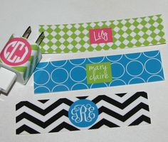 iPhone charger wrap  iPhone accessory  by happythoughtsgifts, $10.00 Love the black chevron, except would change the light blue to Tiffany Blue