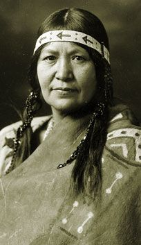 Christine Quintasket  ~first published Native American author