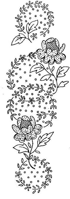 embroidery patterns, embroideri pattern, bead, flower