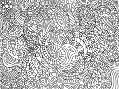 Zentangle Paisley Doodle Drawing by ~KathyAhrens on deviantART