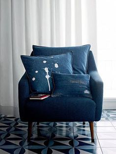 love the shape of this chair