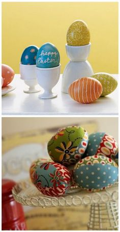 Great Easter egg decorating ideas!