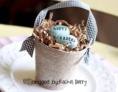 The Rachel Berry Blog: { Personalized Clay Easter Eggs ---A Tutorial }