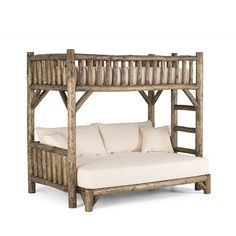 Rustic Bunk Bed #4255 by La Lune Collection