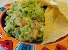 Kickin' Guacamole! This guac is not for the faint of heart, but it sure is delicious!
