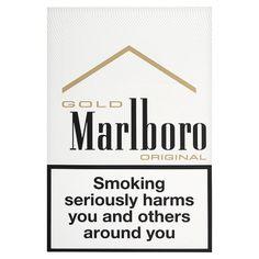 Marlboro gold / Cigarette (filter)