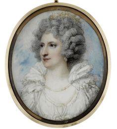 Jane Maxwell, Duchess of Gordon, miniature by Richard Cosway ...