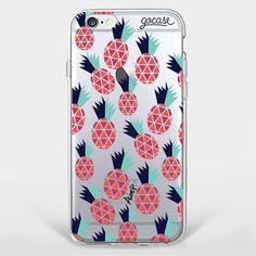 Custom Phone Case Red Pineapple