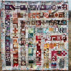 Tula Pink 100 Block Sampler Quilt Complete   Flickr - Photo Sharing!