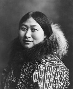 Inuit woman from 1907.