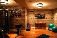 Gym Room on Pinterest