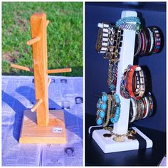 DIY: Coffee mug holder = bracelet organizer